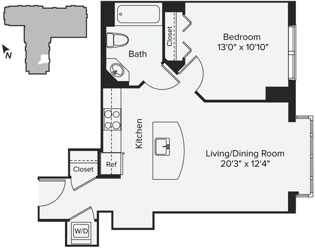 1 Bedroom, East Cambridge Rental in Boston, MA for $2,232 - Photo 1