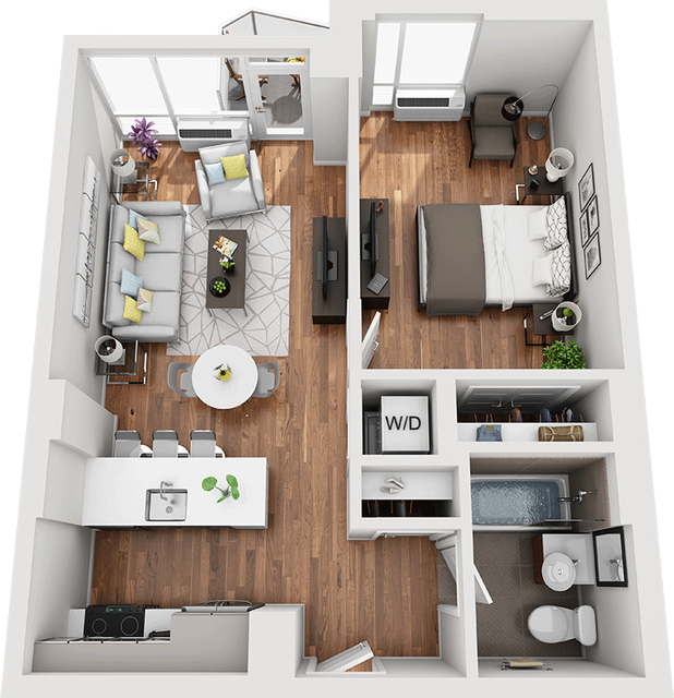 1 Bedroom, Williamsburg Rental in NYC for $2,982 - Photo 1