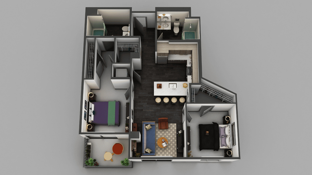 2 Bedrooms, Little Tokyo Rental in Los Angeles, CA for $2,888 - Photo 1