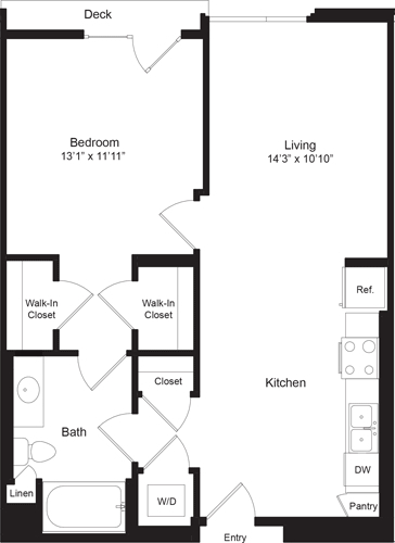 1 Bedroom, Westchester Rental in Los Angeles, CA for $2,788 - Photo 1