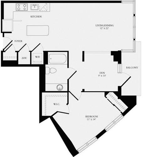 1 Bedroom, Bethesda Rental in Washington, DC for $2,573 - Photo 1