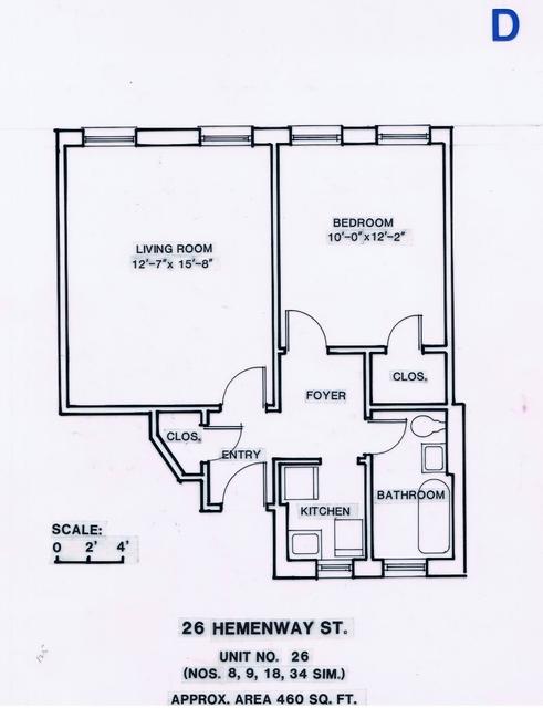1 Bedroom, Fenway Rental in Boston, MA for $2,390 - Photo 1