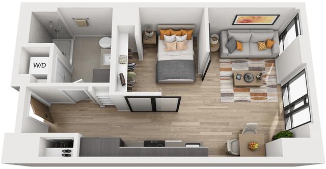 1 Bedroom, Shawmut Rental in Boston, MA for $2,644 - Photo 1