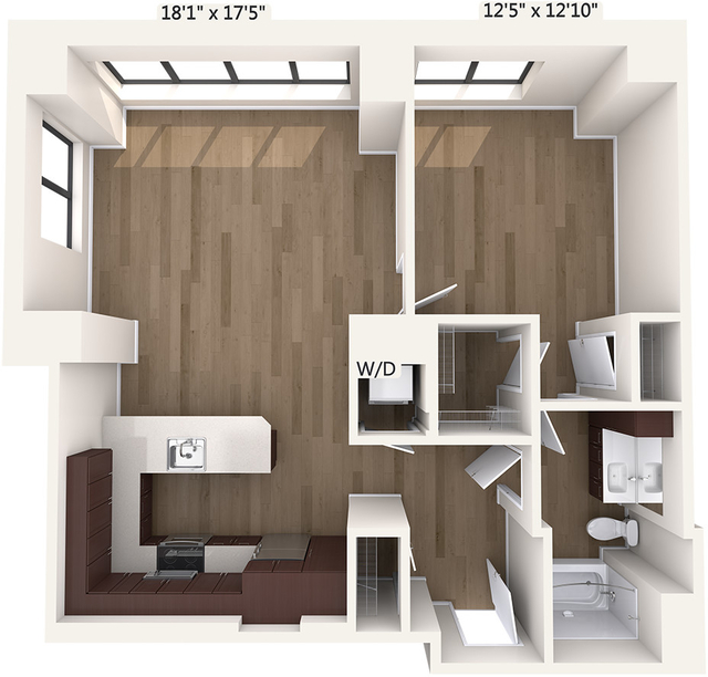 1 Bedroom, Downtown Boston Rental in Boston, MA for $2,545 - Photo 1