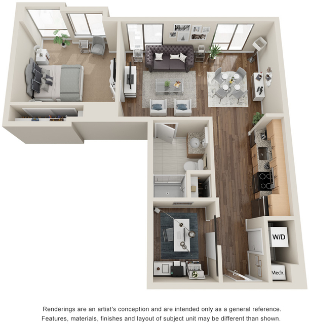 1 Bedroom, Seaport District Rental in Boston, MA for $2,415 - Photo 1