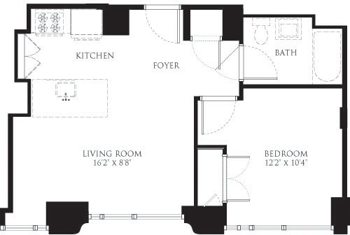 1 Bedroom, Chelsea Rental in NYC for $4,483 - Photo 1