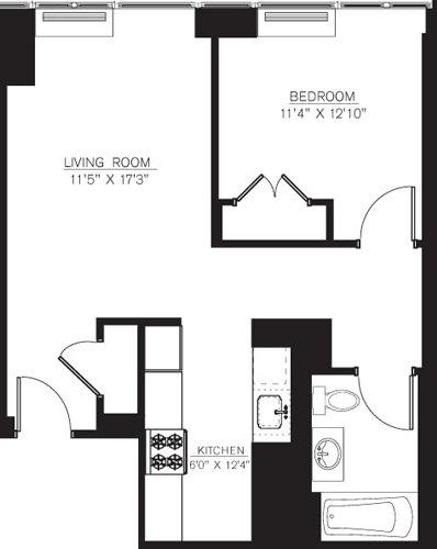 1 Bedroom, Downtown Brooklyn Rental in NYC for $2,553 - Photo 1