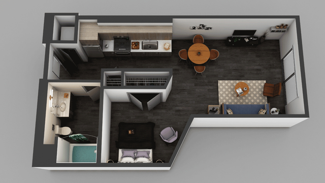Studio, Little Tokyo Rental in Los Angeles, CA for $1,800 - Photo 1