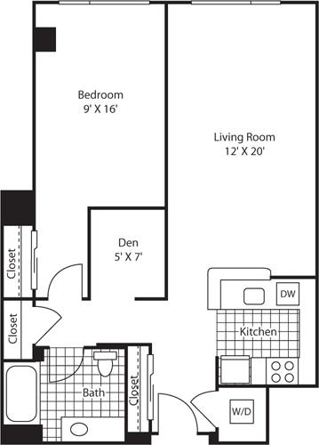 1 Bedroom, Belltown Rental in Seattle, WA for $2,265 - Photo 1