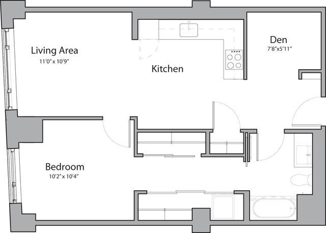 1 Bedroom, Shawmut Rental in Boston, MA for $2,790 - Photo 1
