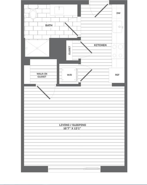 Studio, Medford Street - The Neck Rental in Boston, MA for $2,525 - Photo 1
