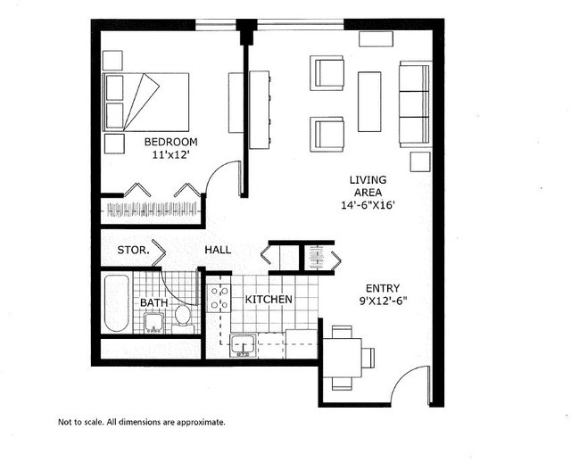 1 Bedroom, Back Bay East Rental in Boston, MA for $2,800 - Photo 1