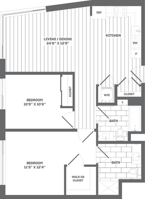 2 Bedrooms, Medford Street - The Neck Rental in Boston, MA for $4,090 - Photo 1