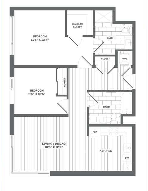 2 Bedrooms, Medford Street - The Neck Rental in Boston, MA for $4,185 - Photo 1