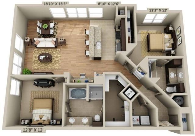 2 Bedrooms, Needham Rental in Boston, MA for $3,246 - Photo 1