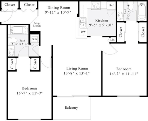 2 Bedrooms, Penrose Rental in Washington, DC for $2,509 - Photo 1