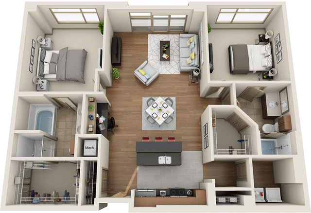 2 Bedrooms, University City Rental in Philadelphia, PA for $3,947 - Photo 1