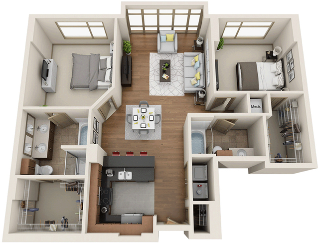 2 Bedrooms, University City Rental in Philadelphia, PA for $3,746 - Photo 1