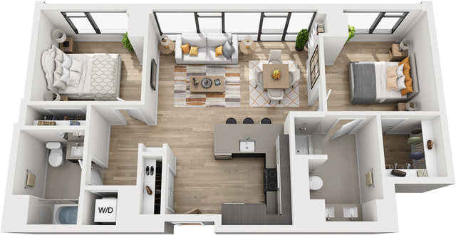 2 Bedrooms, Shawmut Rental in Boston, MA for $4,277 - Photo 1