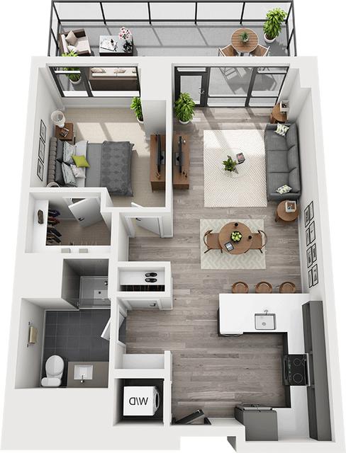 1 Bedroom, Shawmut Rental in Boston, MA for $4,092 - Photo 1
