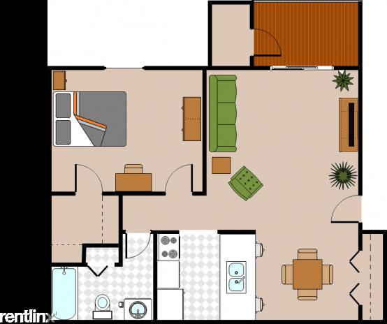1 Bedroom, Allegan Rental in Allegan, MI for $725 - Photo 1