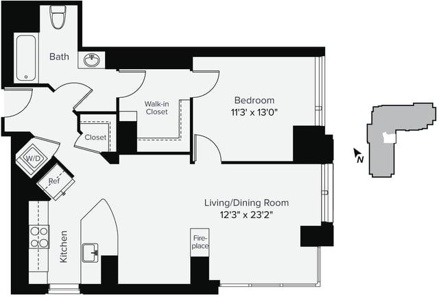 1 Bedroom, East Cambridge Rental in Boston, MA for $3,648 - Photo 1