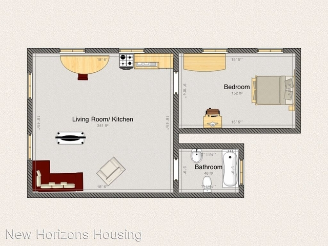 1 Bedroom, Walnut Hill Rental in Philadelphia, PA for $1,040 - Photo 1