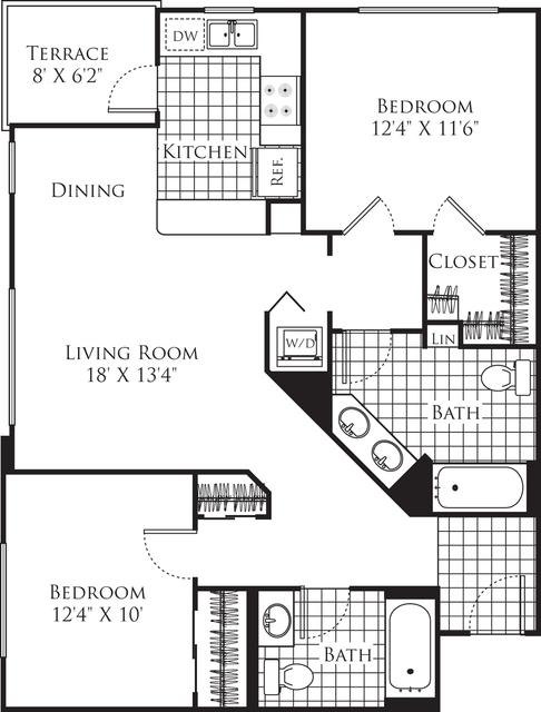 2 Bedrooms, Little Tokyo Rental in Los Angeles, CA for $2,988 - Photo 1