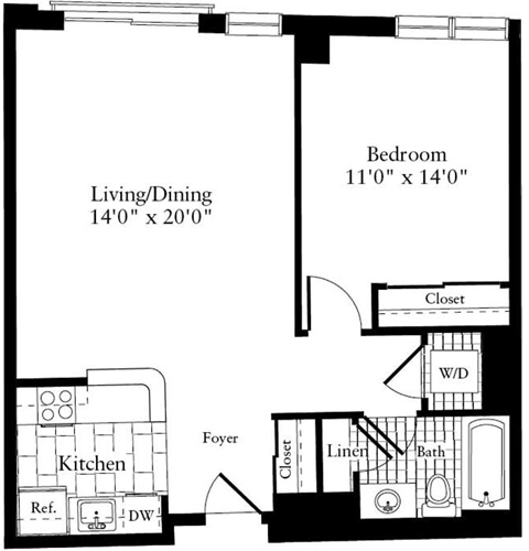 1 Bedroom, South Side Rental in Boston, MA for $2,550 - Photo 1