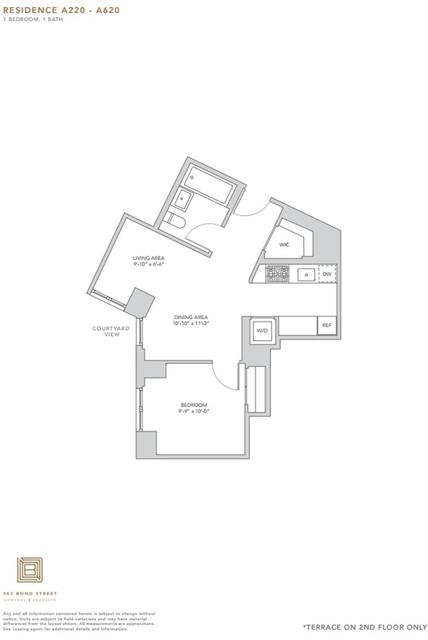 1 Bedroom, Gowanus Rental in NYC for $2,636 - Photo 1