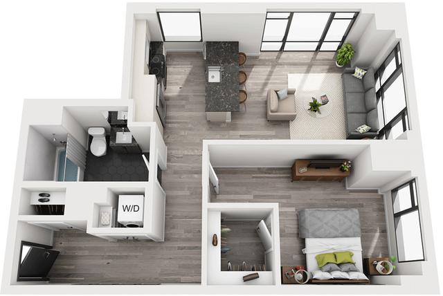 1 Bedroom, Shawmut Rental in Boston, MA for $3,462 - Photo 1