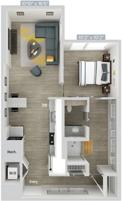 1 Bedroom, Natick Rental in Boston, MA for $2,695 - Photo 1