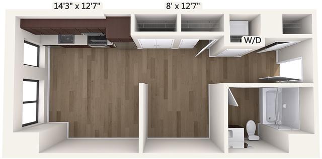 Studio, Downtown Boston Rental in Boston, MA for $2,440 - Photo 1