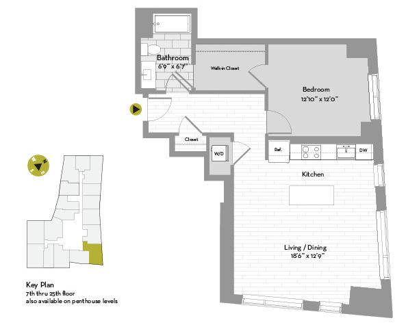 1 Bedroom, St. Marks Rental in Boston, MA for $4,319 - Photo 1