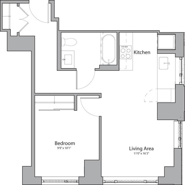 1 Bedroom, Shawmut Rental in Boston, MA for $2,490 - Photo 1