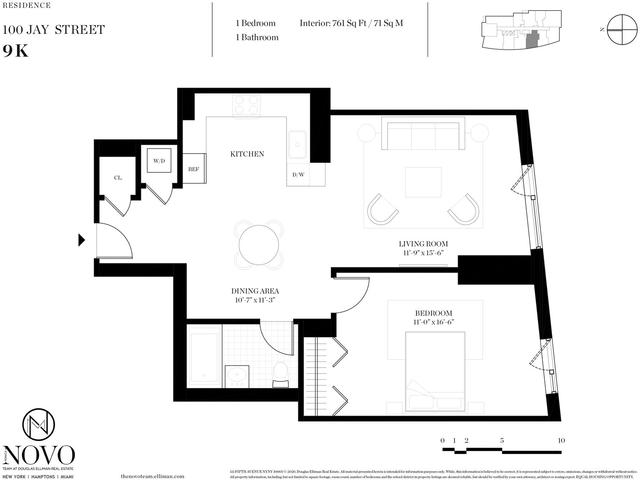 1 Bedroom, DUMBO Rental in NYC for $3,150 - Photo 1