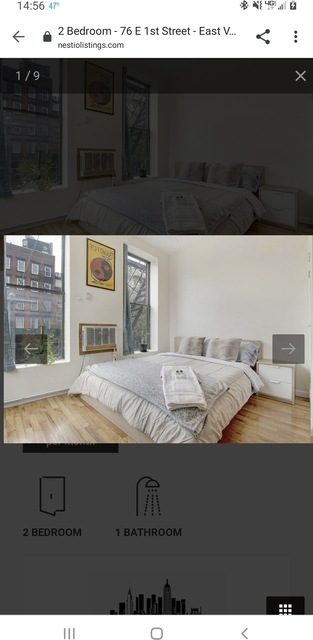 2 Bedrooms, East Village Rental in NYC for $1,899 - Photo 1