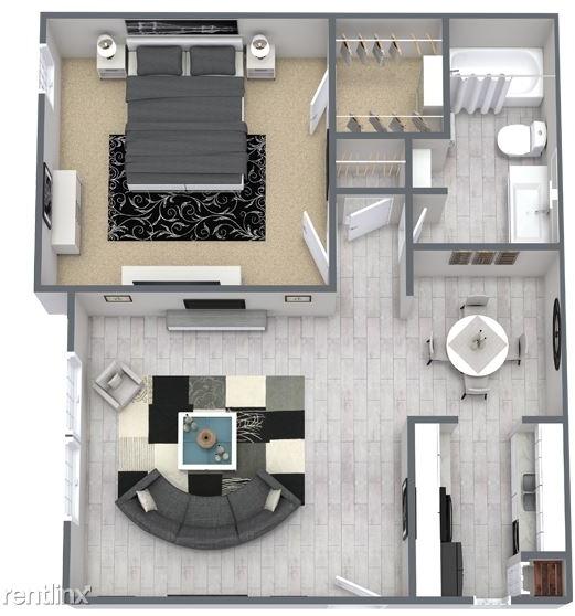 1 Bedroom, Southwest Carrollton Rental in Dallas for $952 - Photo 1