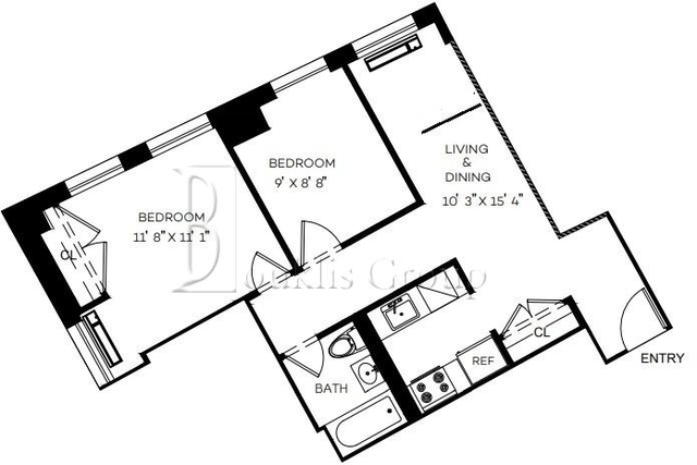 2 Bedrooms, Financial District Rental in NYC for $2,965 - Photo 1