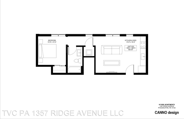 1 Bedroom, Avenue of the Arts North Rental in Philadelphia, PA for $1,320 - Photo 1