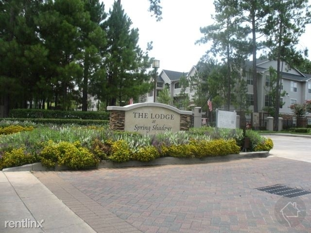 1 Bedroom, Lodge at Spring Shadows Apts Rental in Houston for $1,617 - Photo 1