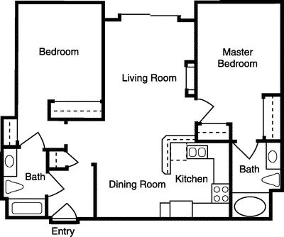 2 Bedrooms, West Los Angeles Rental in Los Angeles, CA for $3,427 - Photo 1