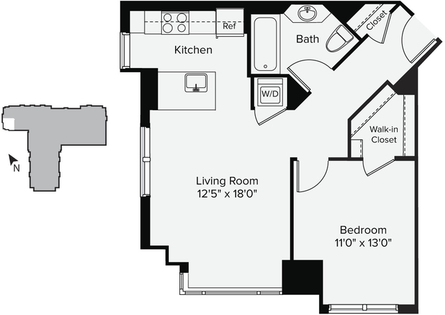 1 Bedroom, East Cambridge Rental in Boston, MA for $2,643 - Photo 1
