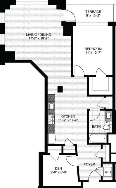 1 Bedroom, Downtown Boston Rental in Boston, MA for $4,160 - Photo 1
