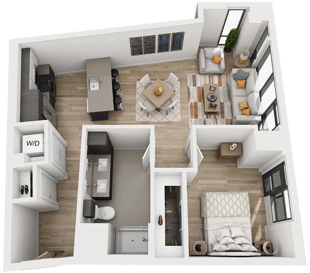 1 Bedroom, Shawmut Rental in Boston, MA for $4,249 - Photo 1