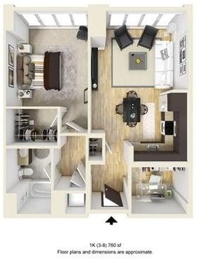 1 Bedroom, West Fens Rental in Boston, MA for $4,105 - Photo 1