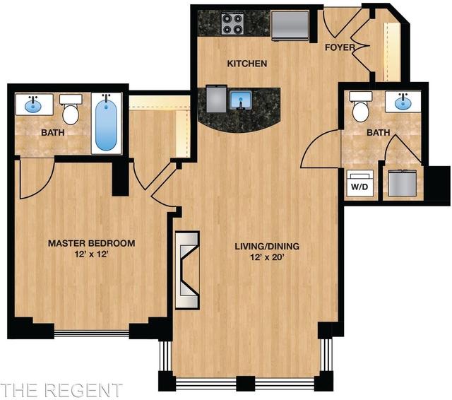 1 Bedroom, Dupont Circle Rental in Washington, DC for $2,539 - Photo 1
