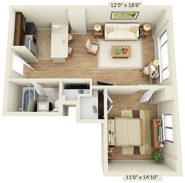 1 Bedroom, Chelsea Rental in NYC for $4,099 - Photo 1