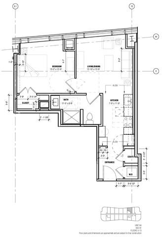 1 Bedroom, West Fens Rental in Boston, MA for $3,789 - Photo 1