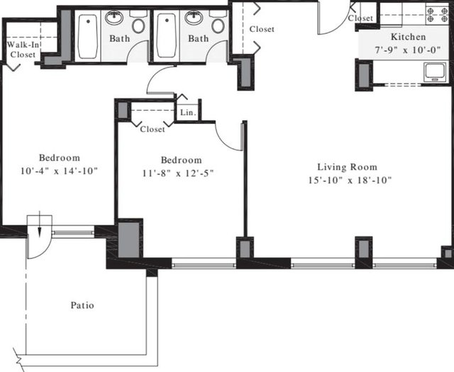 2 Bedrooms, Upper West Side Rental in NYC for $3,538 - Photo 1